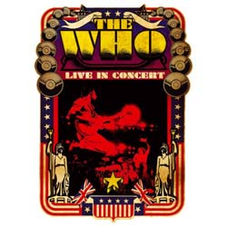 The Who Greetings Card: Live in Concert