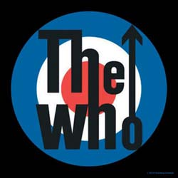 The Who Single Cork Coaster: Target