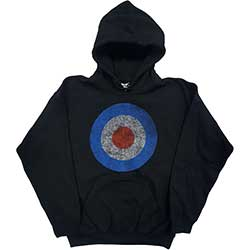 The Who Men's Pullover Hoodie: Target Distressed
