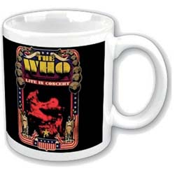 The Who Boxed Standard Mug: Live in Concert