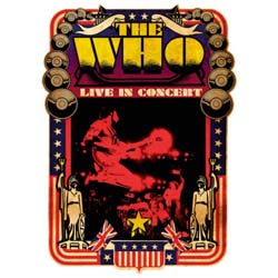The Who Postcard: Live in Concert (Standard)