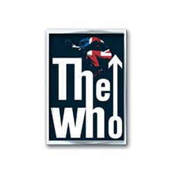 The Who Metal Pin: Leap