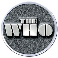 The Who Metal Pin: Stencil