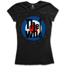 The Who Ladies Tee: Target Classic