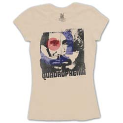 The Who Ladies Tee: Four Square