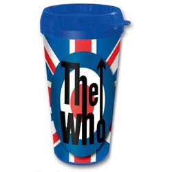 The Who Travel Mug: Target with Plastic Body