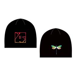 Yes Men's Beanie Hat: Dragonfly