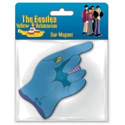 The Beatles Rubber Magnet: Yellow Submarine Flying Glove