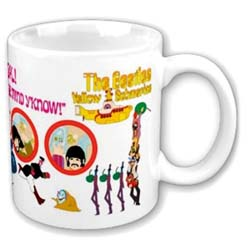 The Beatles Boxed Standard Mug: Yellow Submarine Nothing is Real