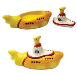 The Beatles Salt & Pepper Pots: Yellow Submarine
