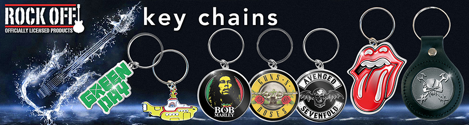Wholesale band merchandise including keychains
