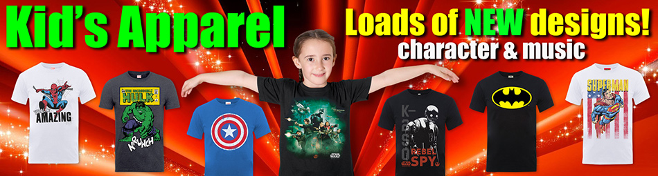 Kid's Official Licensed Apparel
