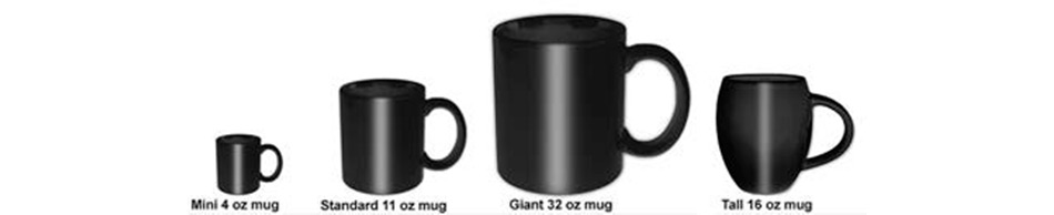 Guide to Rock Off Mug Sizes