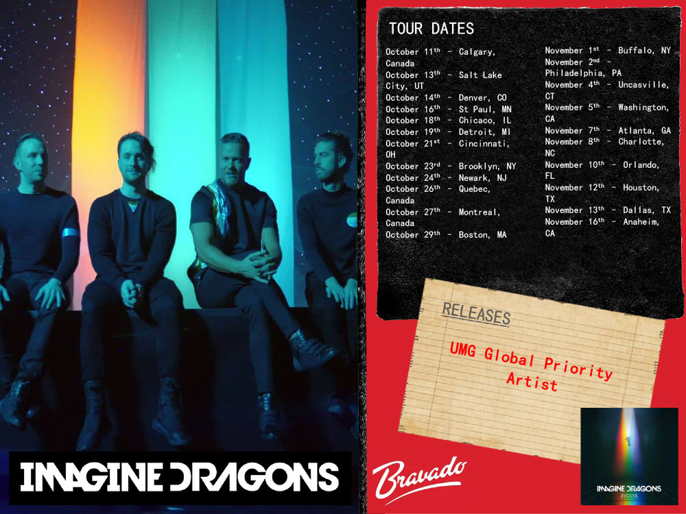Imagine Dragons Artist's Activity
