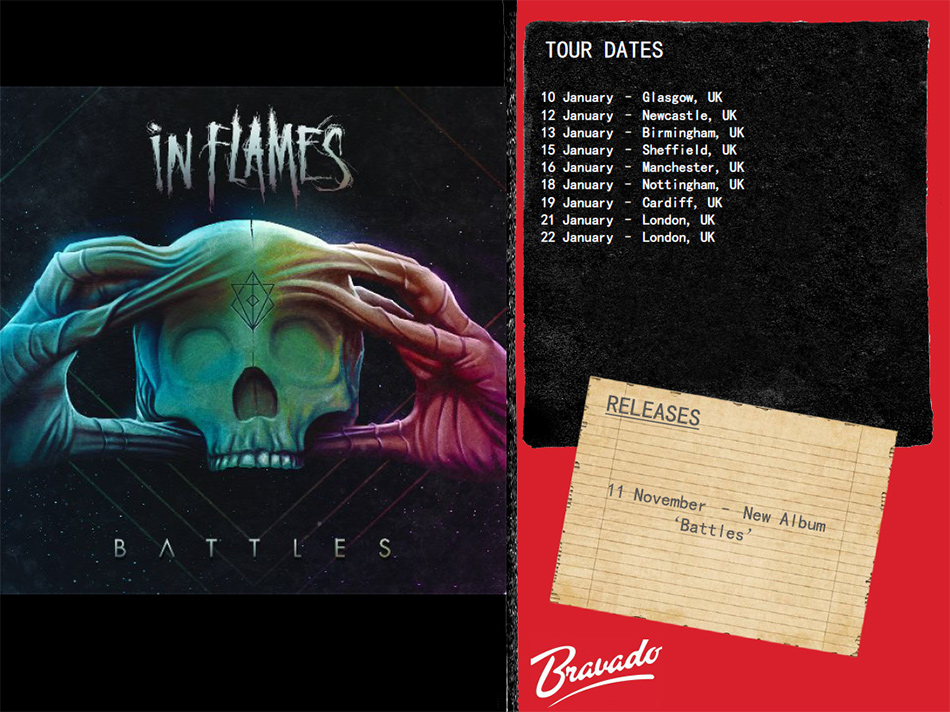 In Flames Artist Activity