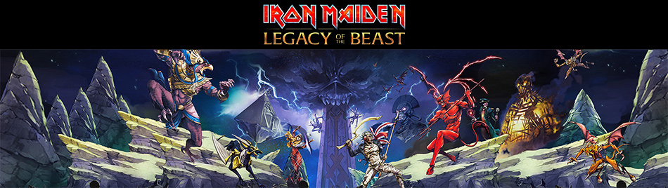 Iron Maiden Legacy of the Beast Game