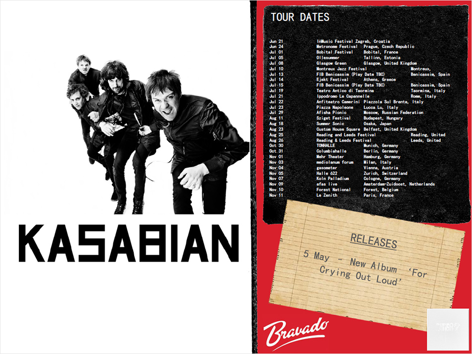 Kasabian Artist Activity