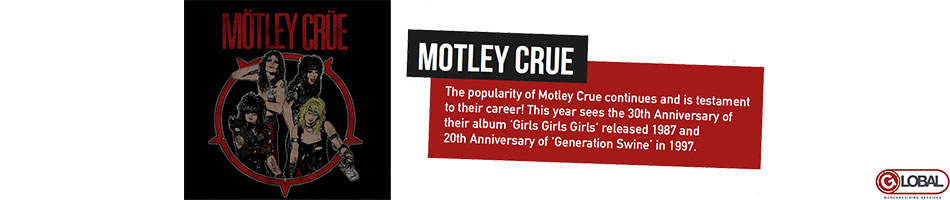 Motley Crue Artist Activity from June 2017 - Artist Page Banner