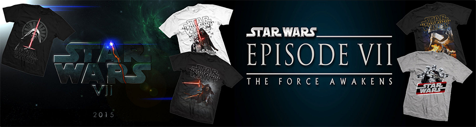 Star Wars The Force Awakens Tees