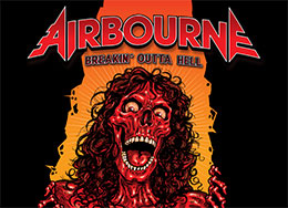 Airbourne Band Merch