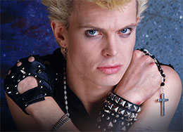 Billy Idol Officially Licensed Merchandise