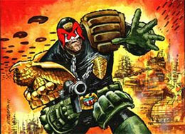 Judge Dredd Merchandise