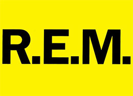 R.E.M. Official Licensed Merchandise