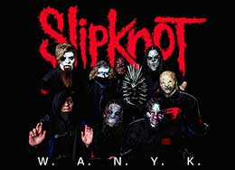 Slipknot WANYK Licensed Merchandise