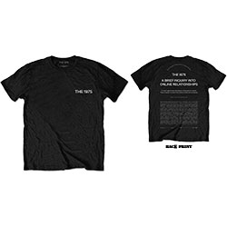 The 1975 Unisex Tee: ABIIOR Wecome Welcome (Back Print)