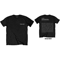 The 1975 Unisex Tee: ABIIOR Wecome Welcome Version 2. (Back Print)