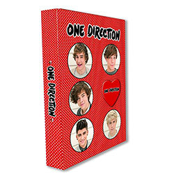 One Direction A4 Binder: Phase 3