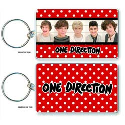 One Direction Standard Key-Chain: Phase 3 (Double Sided)