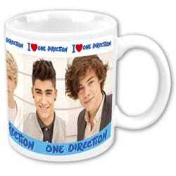 One Direction Boxed Standard Mug: I Heart 1D