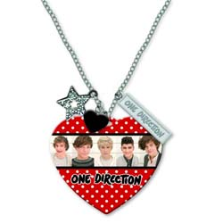 One Direction Necklace: Band Shot