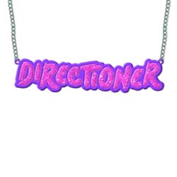 One Direction Necklace: Directioner
