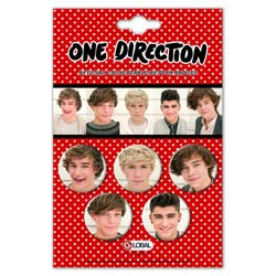 One Direction Button Badge Pack: Phase 3