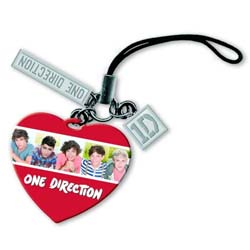 One Direction Phone Charm: 5 Head Shots