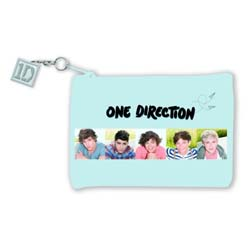 One Direction Purse: 1D (with zip top)