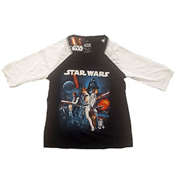 Star Wars Ladies Raglan Tee: Classic