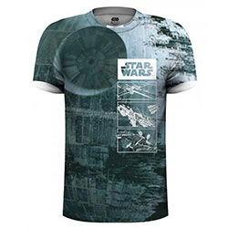 Star Wars Men's Tee: Ship (Large) (Sublimation Print)