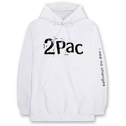 Tupac Unisex Pullover Hoodie: I See No Changes
