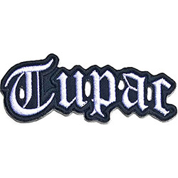 Tupac Standard Patch: Cut-Out Logo