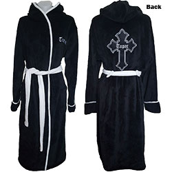 Tupac Unisex Bathrobe: Cross