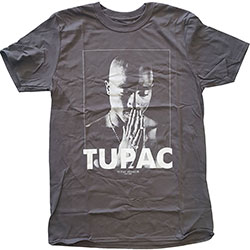 Tupac Men's Tee: Praying