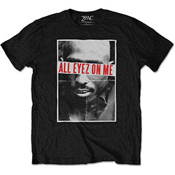 Tupac Men's Tee: All Eyez
