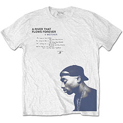 Tupac Unisex Tee: A River …