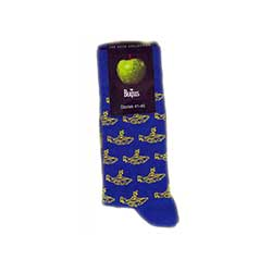 The Beatles Ladies Ankle Socks: Yellow Submarine (UK Size 4 - 7)
