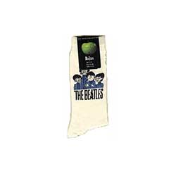 The Beatles Men's Socks: Cartoon Group