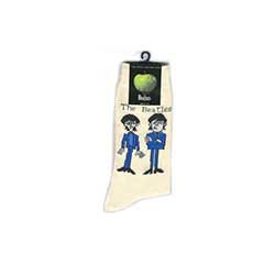 The Beatles Men's Socks: Cartoon Standing