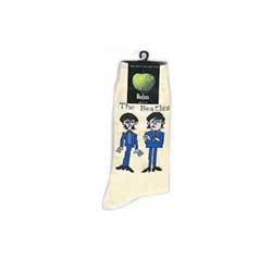 The Beatles Ladies Socks: Cartoon Standing